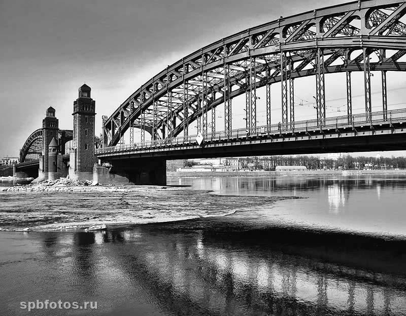 Большеохтинский мост. Фото Петербурга