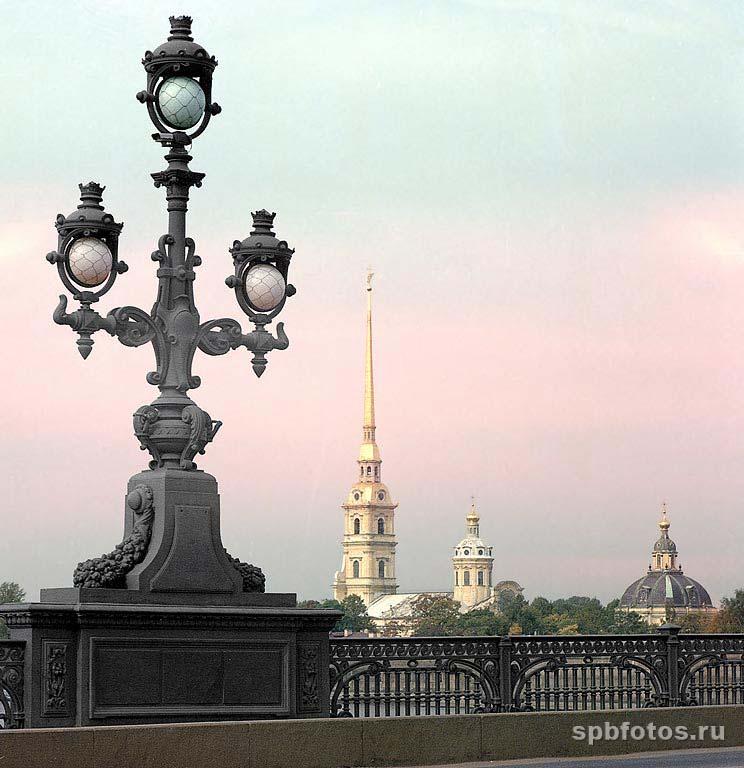 Петропавловская крепость с Троицкого моста